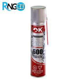 اسپری کنتاکت شوی خشک 600 برند OK