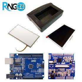 پک LCD 7 اینچ با تاچ مقاومتی