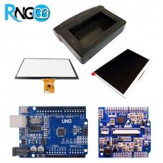 بسته شیلد FT811 به همراه آردوینو + LCD + تاچ + باکس