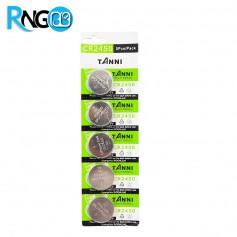 باتری سکه ای 3 ولت CR2450 مارک TANNI