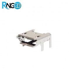 کانکتور USB-Micro مادگی 5pin هولدر 4 پایه