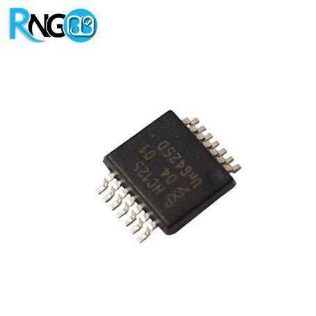 تراشه 74HC573D پکیج SOIC20 اورجینال NXP
