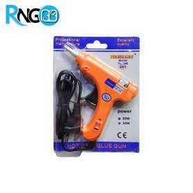 تفنگ چسب حرارتی کوچک 20W کلیددار