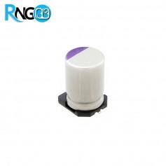 خازن جامد - پلیمری 220uf / 16v سایز 6.3x7.7