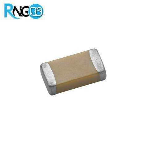 خازن 18pF مولتی لایر سرامیکی SMD (بسته 20 تایی)